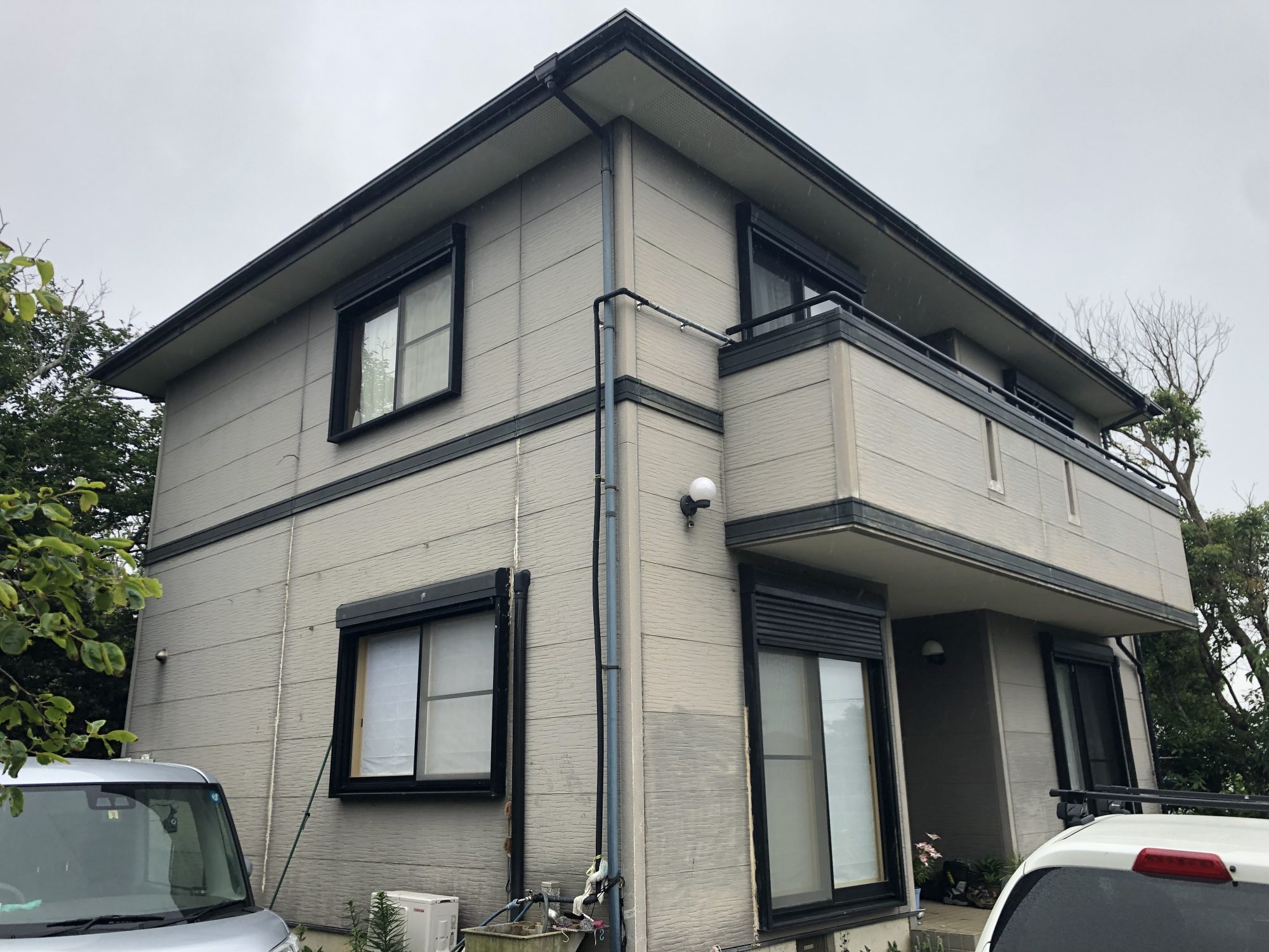銚子市K様邸屋根外壁塗装工事 Before