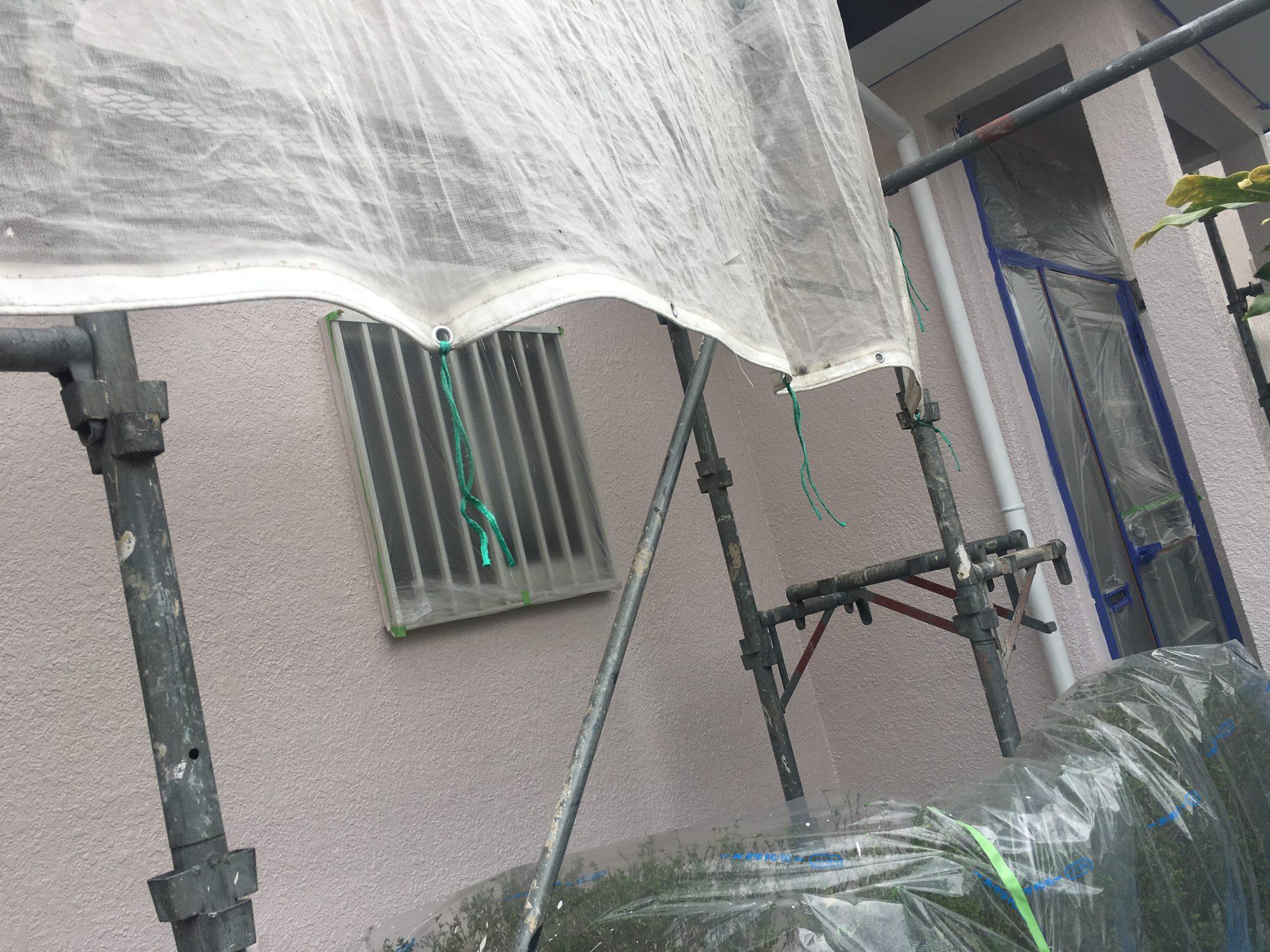 茂原市A様邸外壁塗装工事