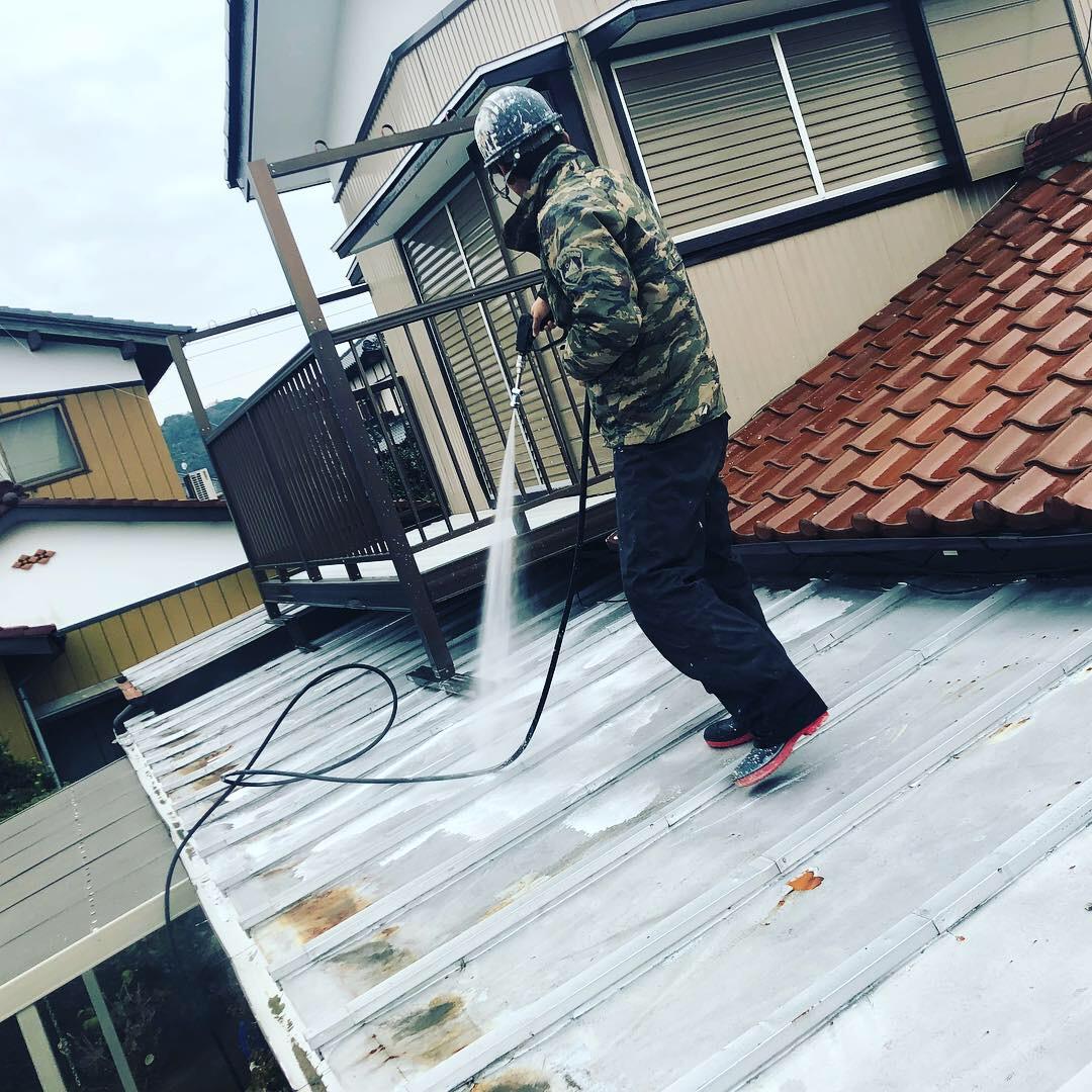 茂原市T様邸屋根塗装工事