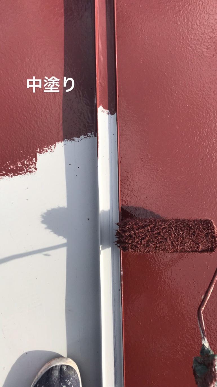 長生郡長南町F様邸屋根塗装工事