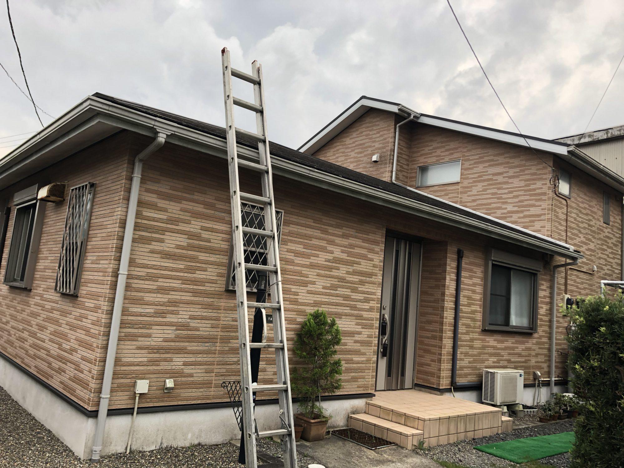 いすみ市T様邸屋根カバー工法・外壁塗装工事 Before