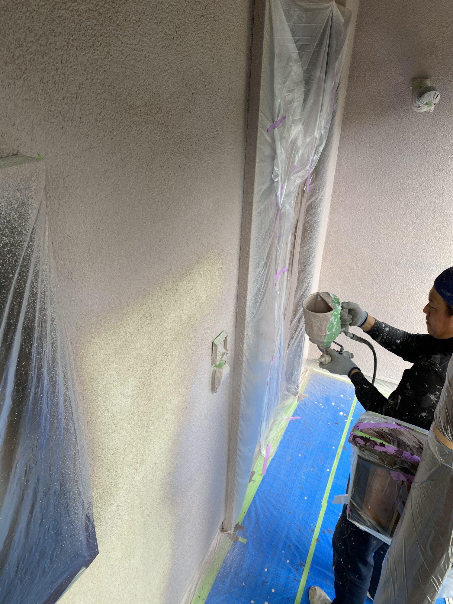 いすみ市H様邸外壁塗装工事