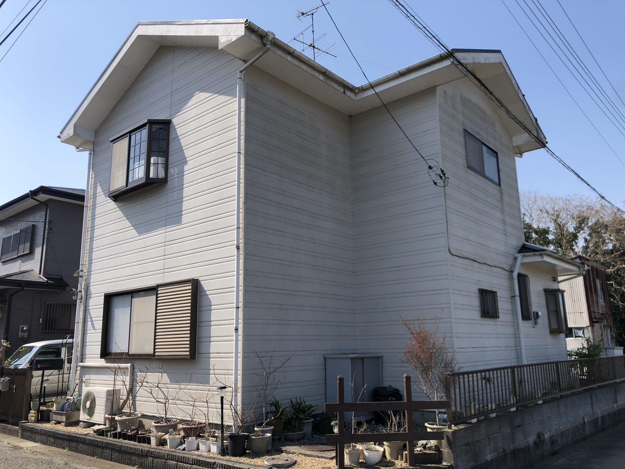 長生郡睦沢町A様邸屋根外壁塗装工事 Before