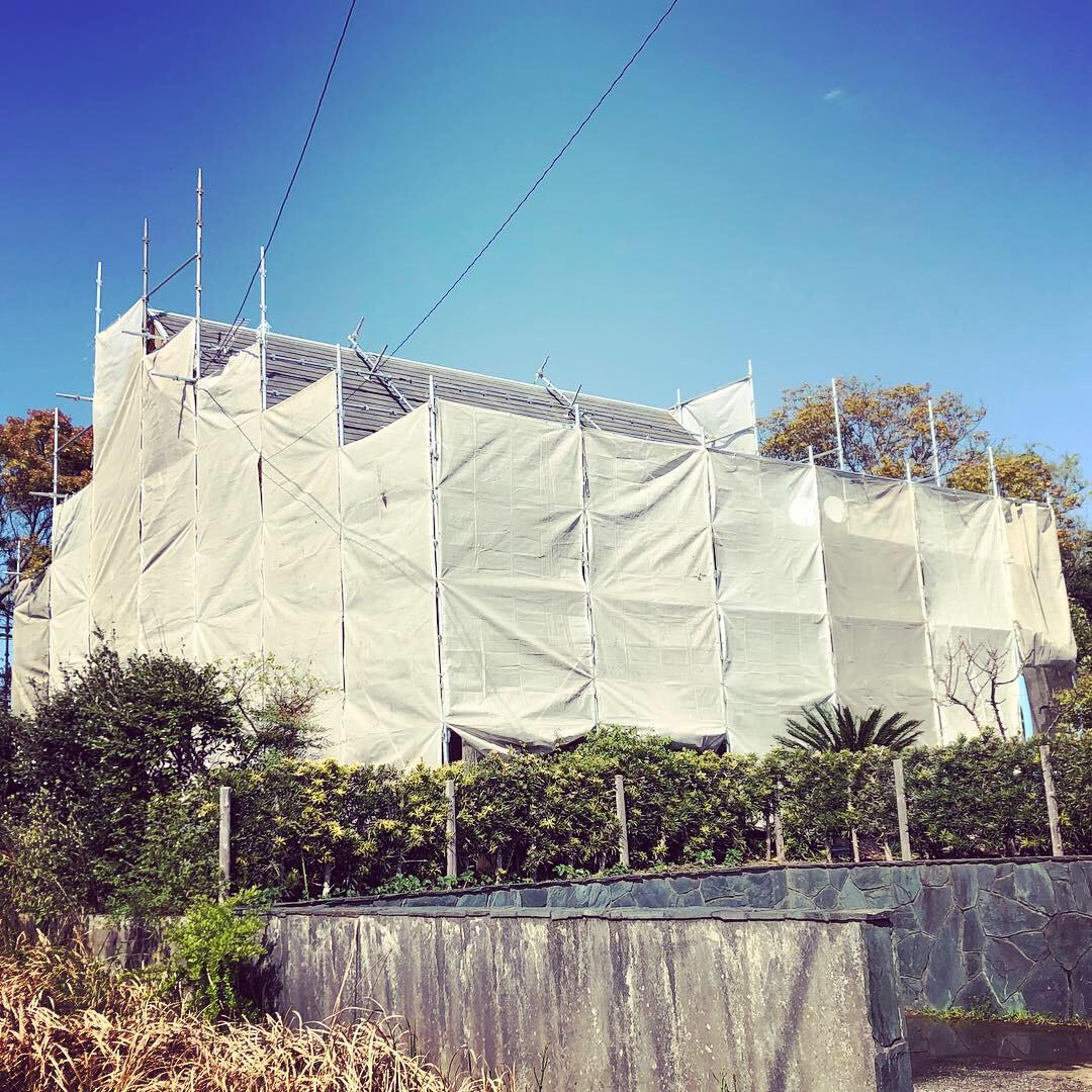 いすみ市O様邸屋根外壁塗装工事