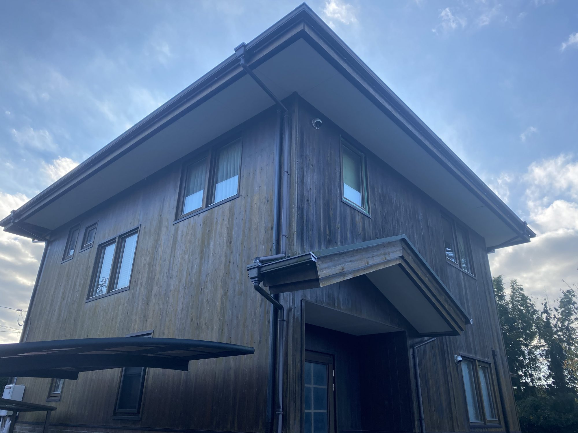 いすみ市H様邸屋根外壁塗装工事 Before