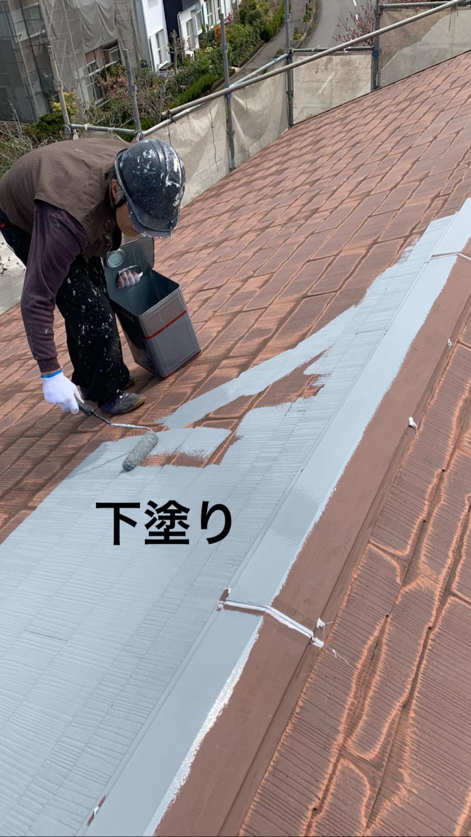 茂原市A様邸屋根外壁塗装工事