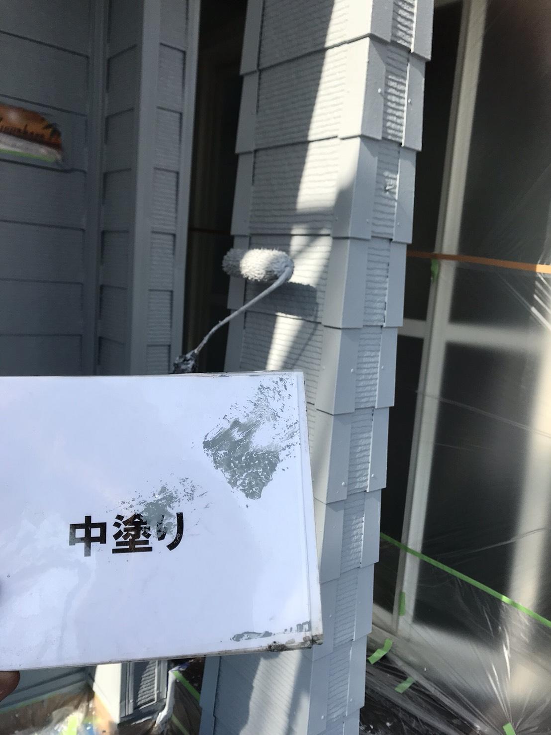 長生郡一宮町レストランブル様屋根外壁塗装工事