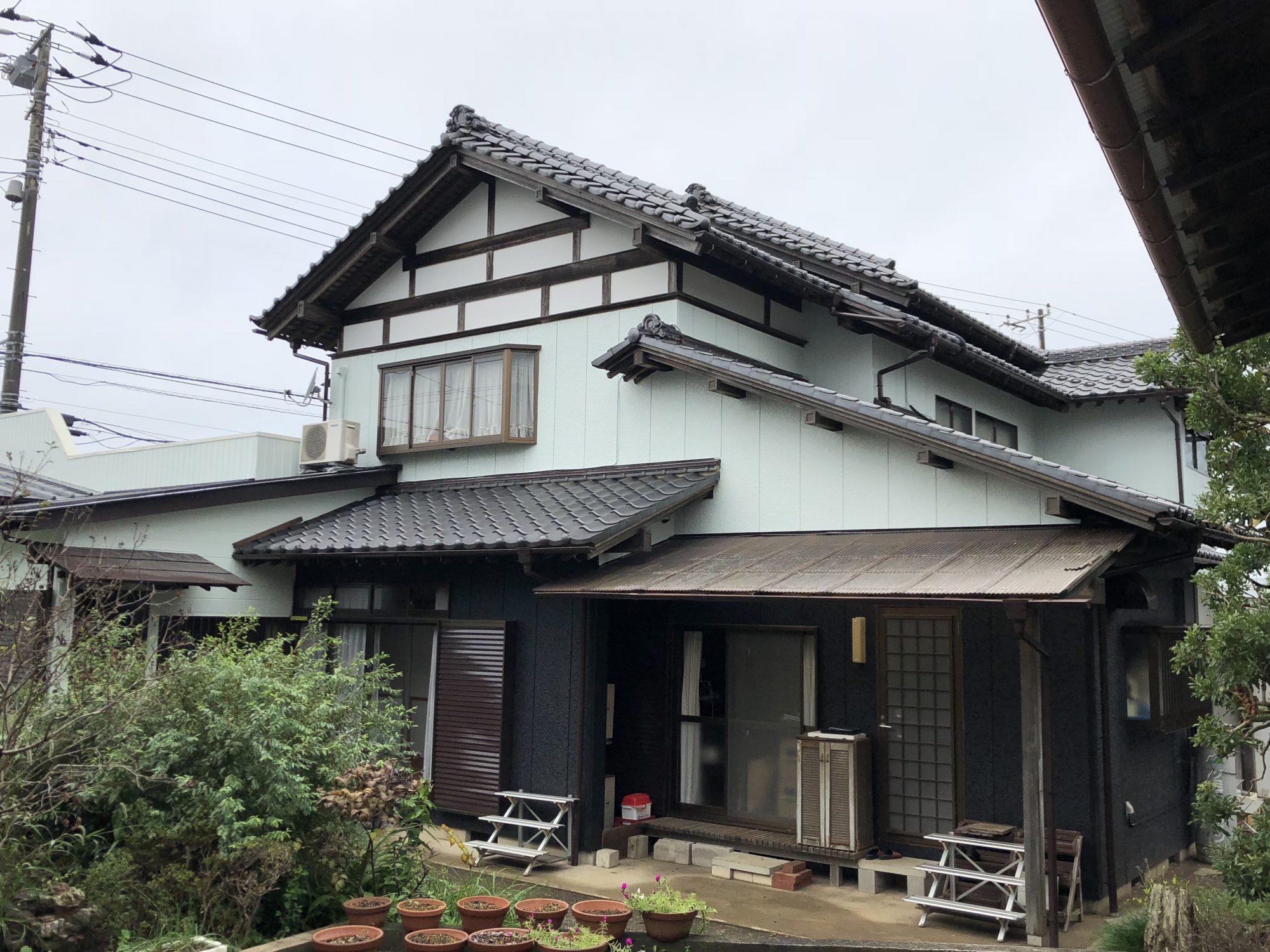 袖ヶ浦市S様邸屋根外壁塗装工事 After