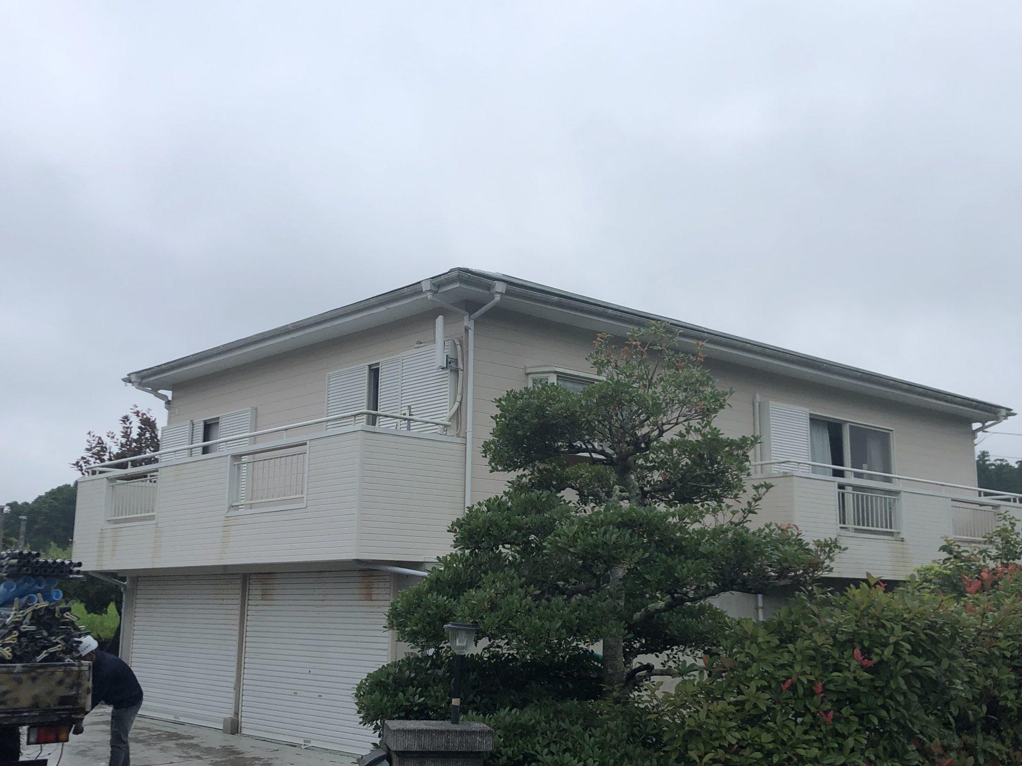 いすみ市O様邸屋根外壁塗装工事 Before