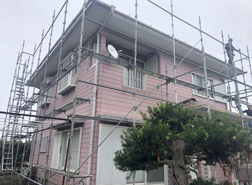茂原市Y様邸外壁塗装工事 Before