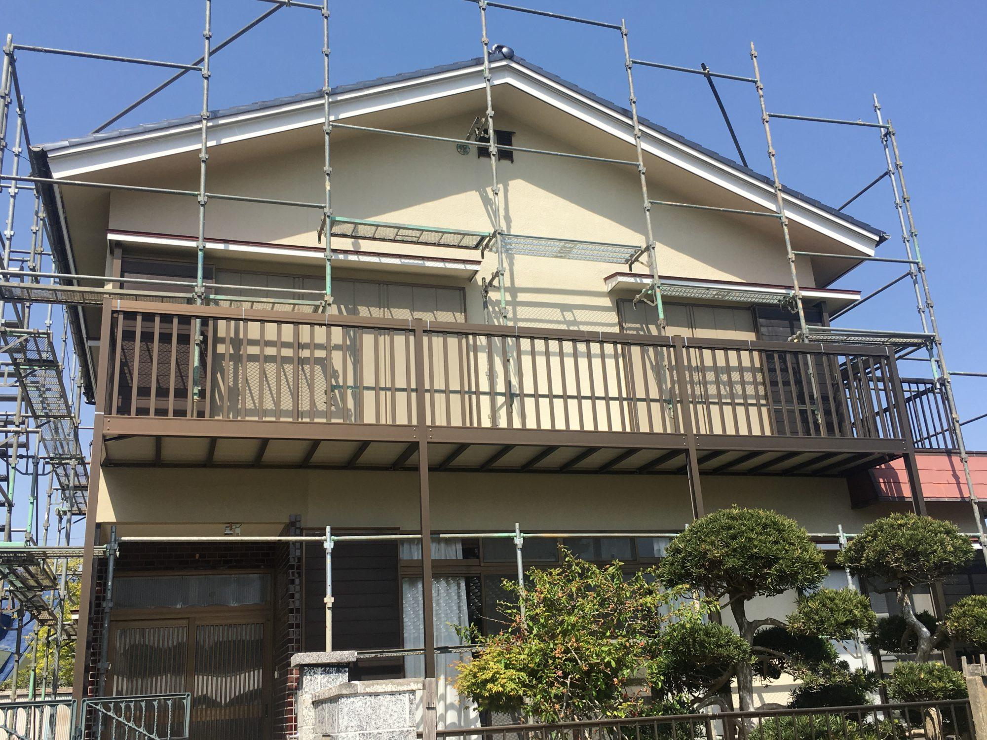御宿町S様邸外壁塗装工事 Before