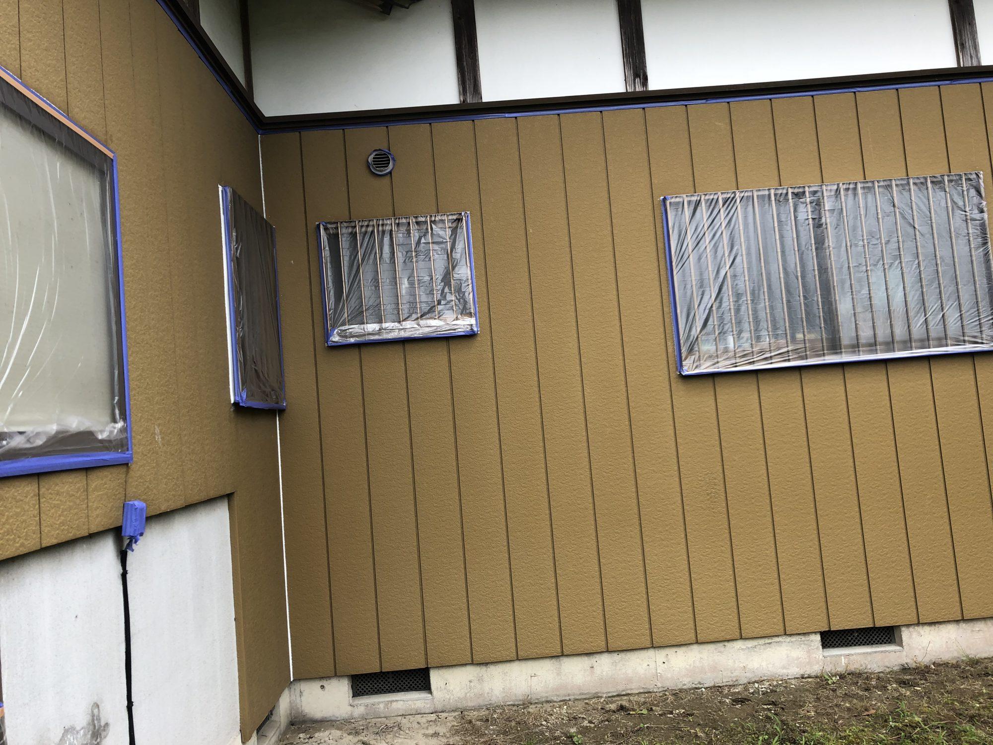 長生郡一宮町I様邸外壁塗装工事