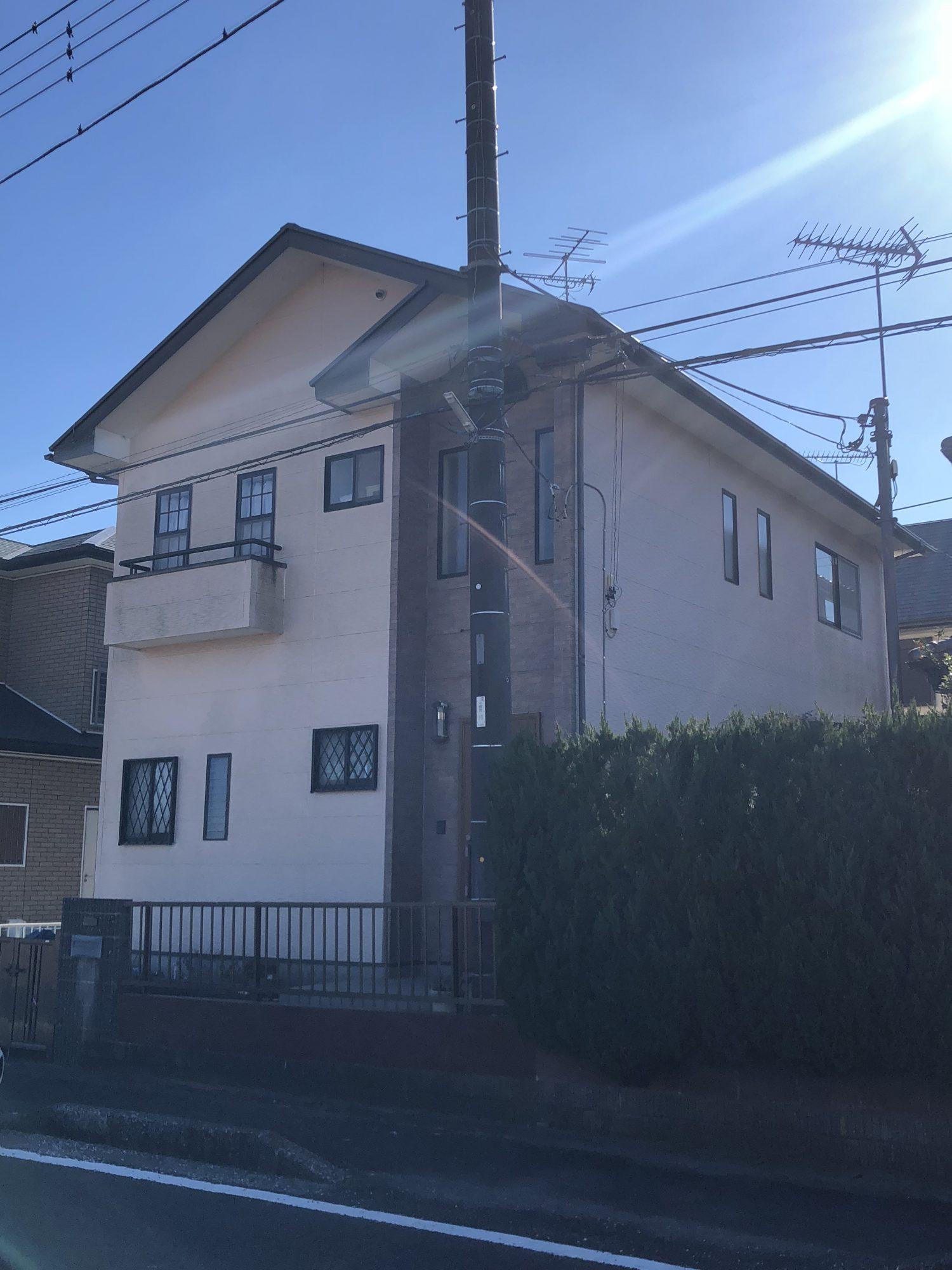 茂原市M様邸屋根カバー工法・外壁塗装工事 Before