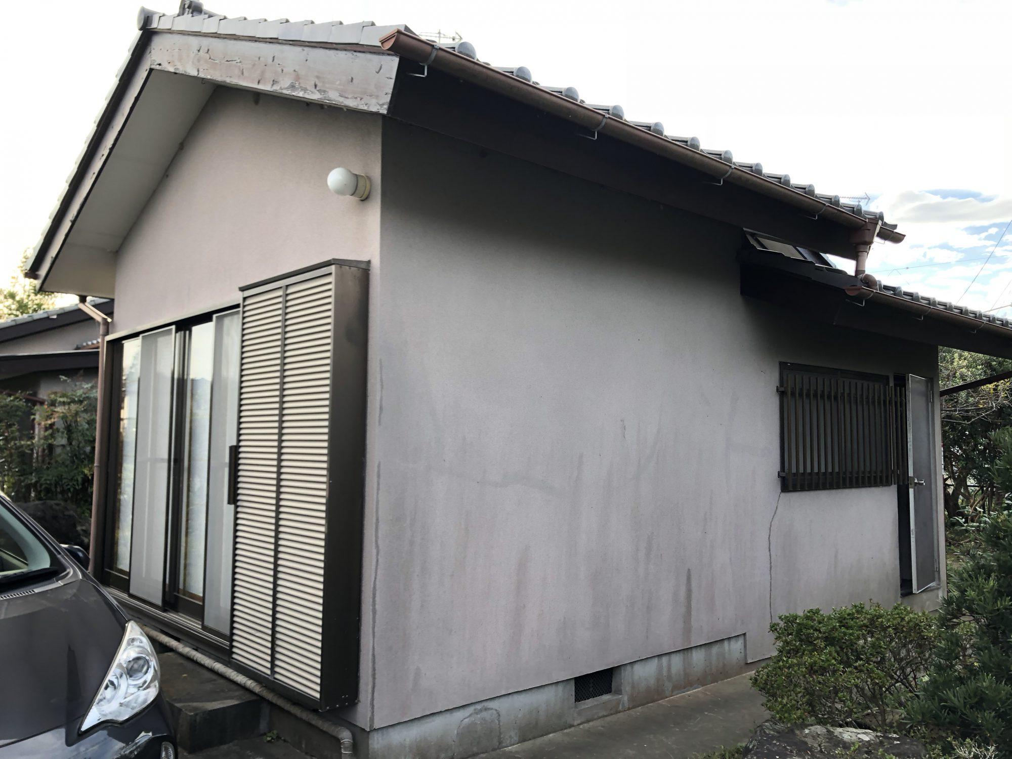 いすみ市岬町T様邸外壁塗装工事 Before