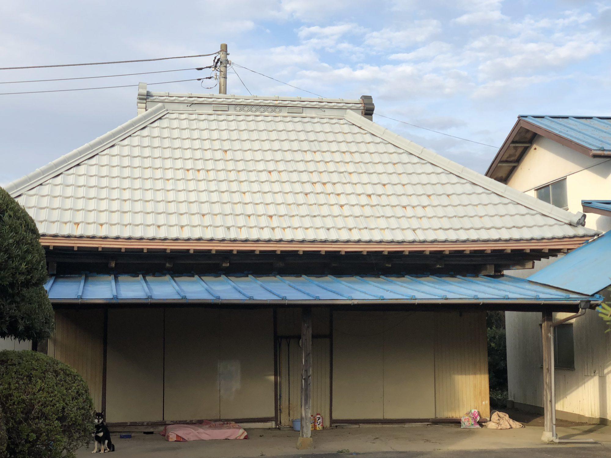 茂原市S様邸屋根塗装工事 Before