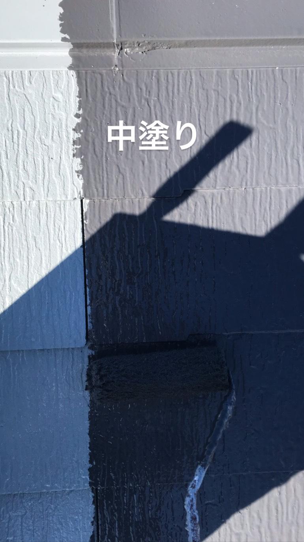 長生郡長生村Y様邸屋根外壁塗装工事