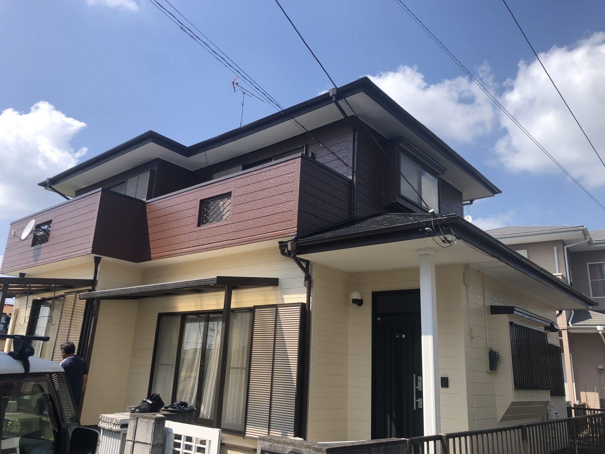 茂原市N様邸屋根外壁塗装工事 After