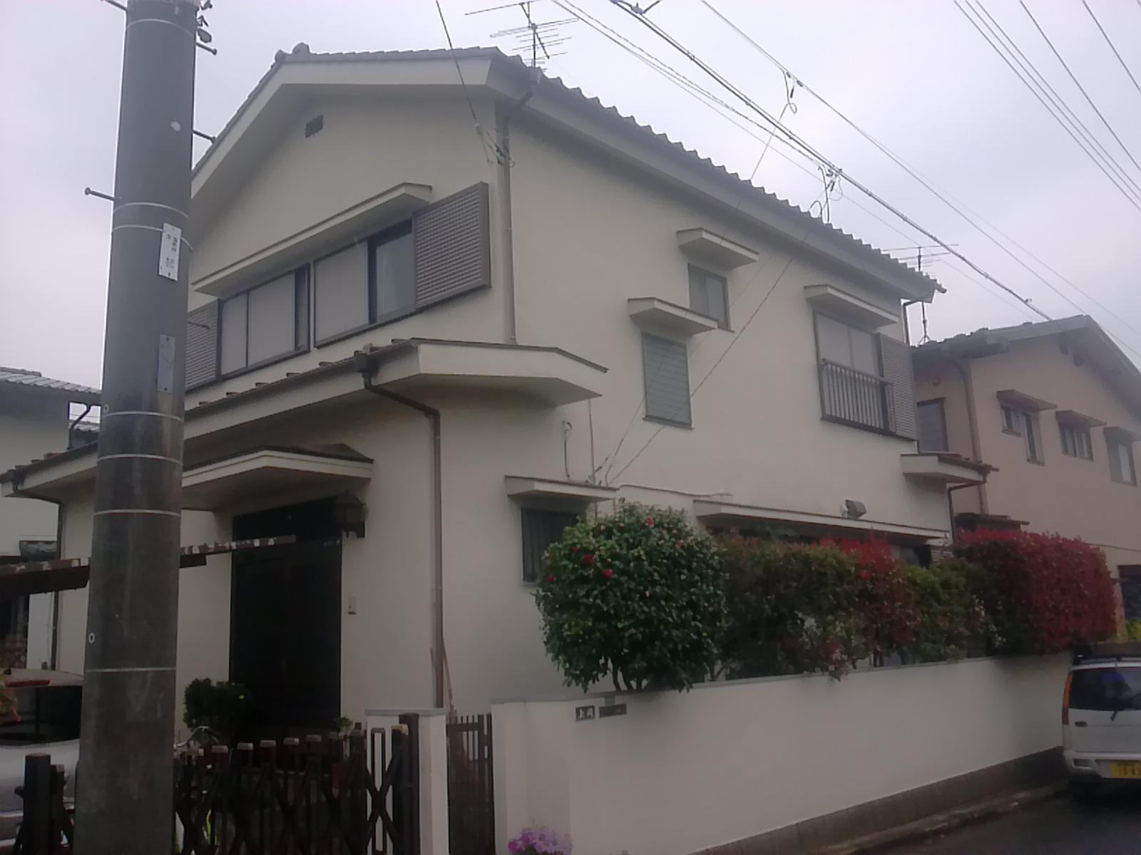 船橋市K様邸 屋根・外壁塗装 Before