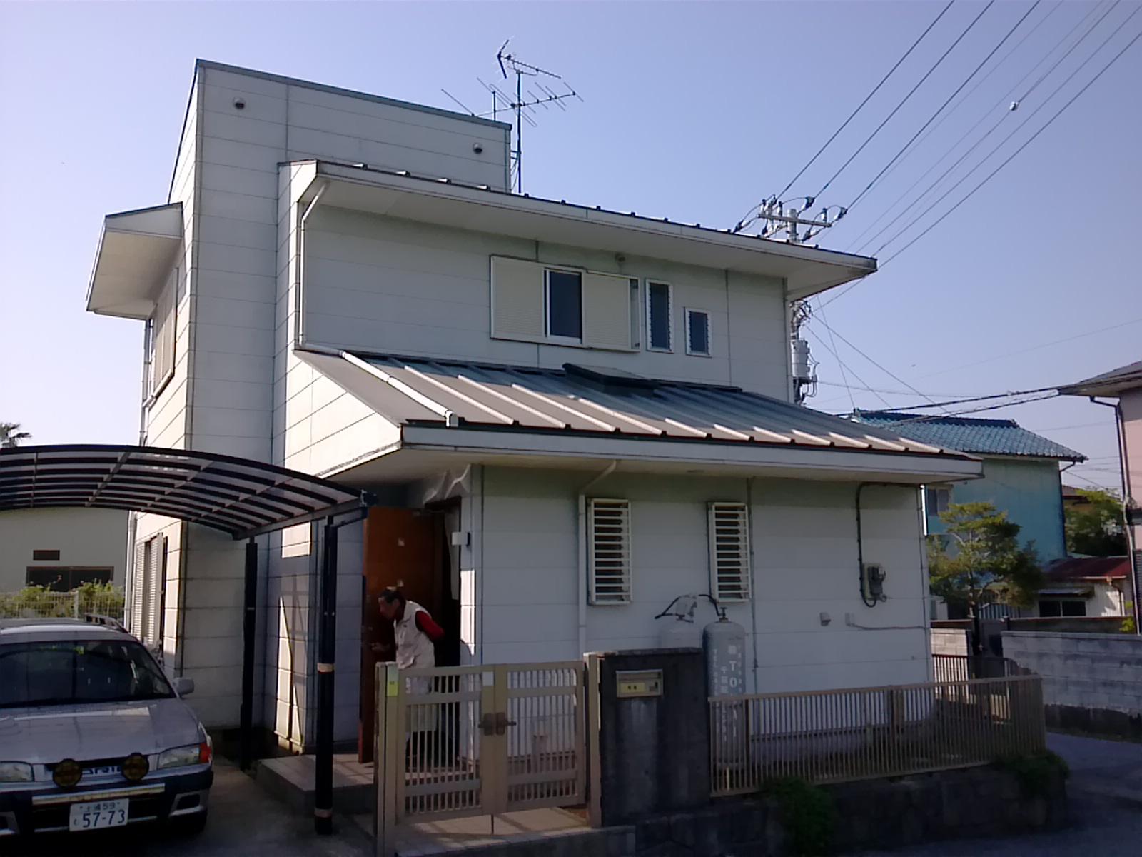 いすみ市A様邸 屋根・外壁塗装 Before