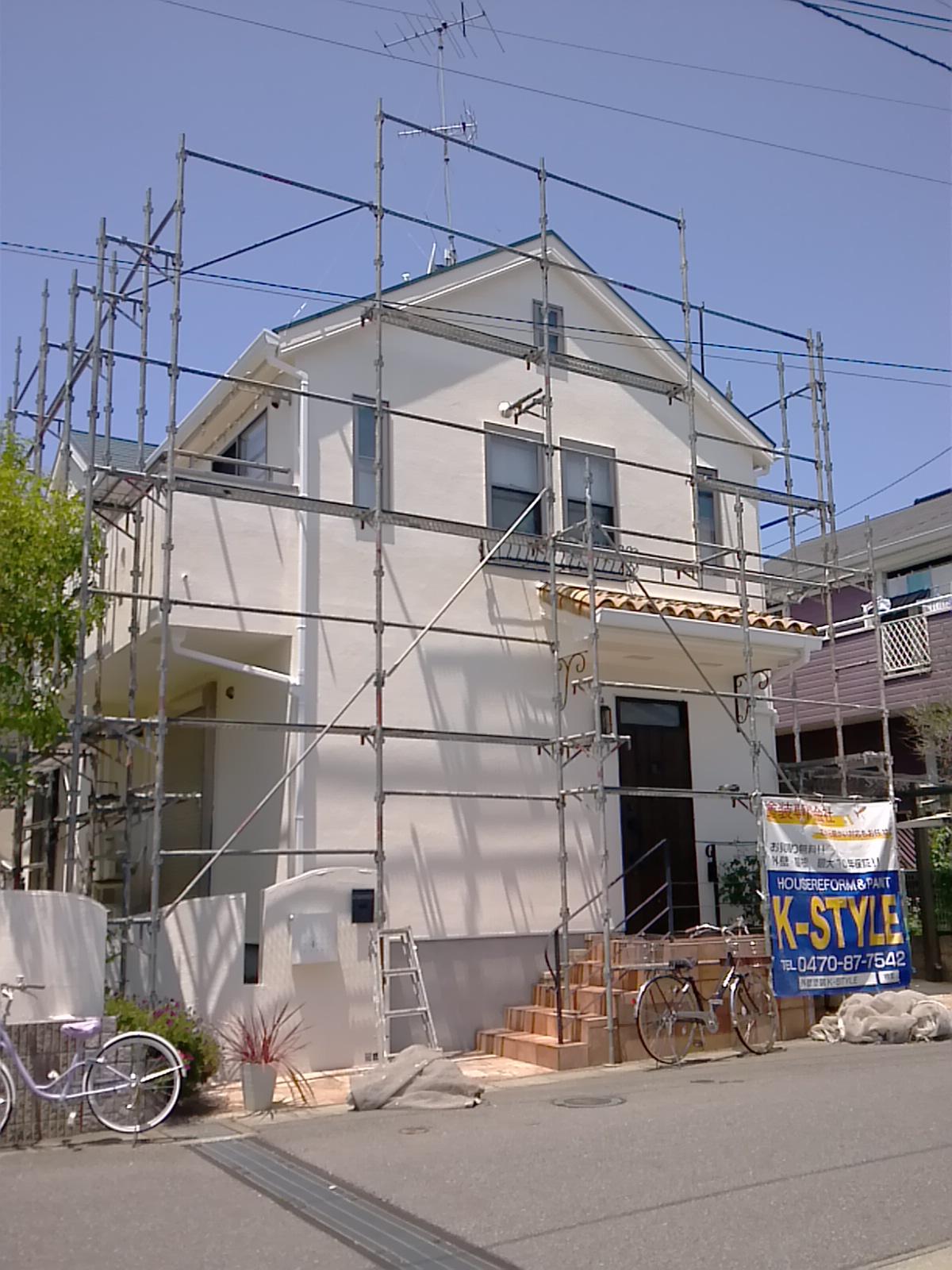 市川市K様邸 屋根・外壁塗装工事