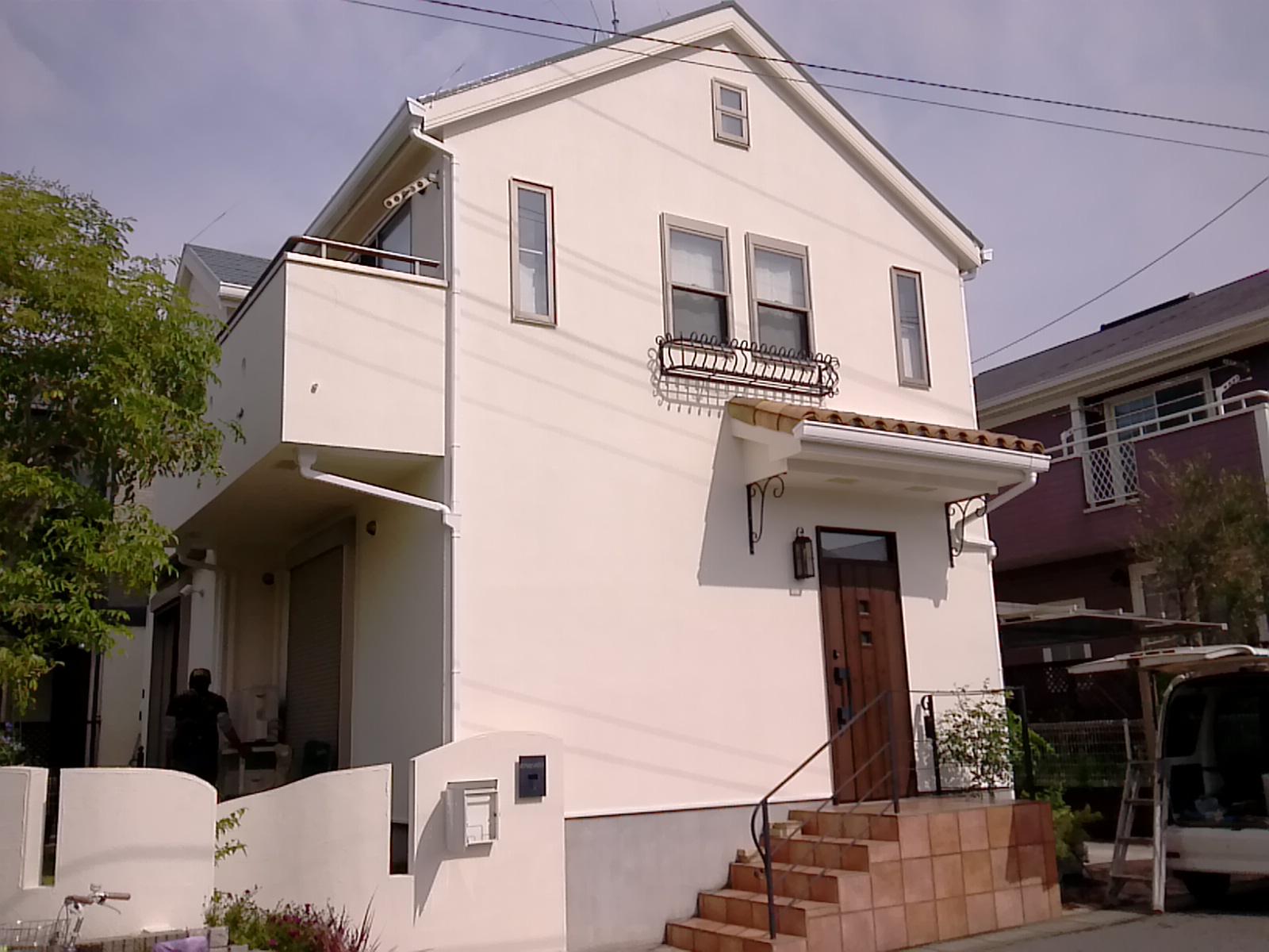 市川市K様邸 屋根・外壁塗装工事 After