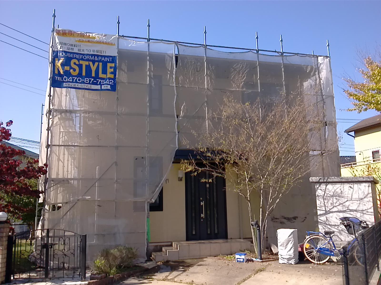 酒々井町O様 屋根・外壁塗装工事