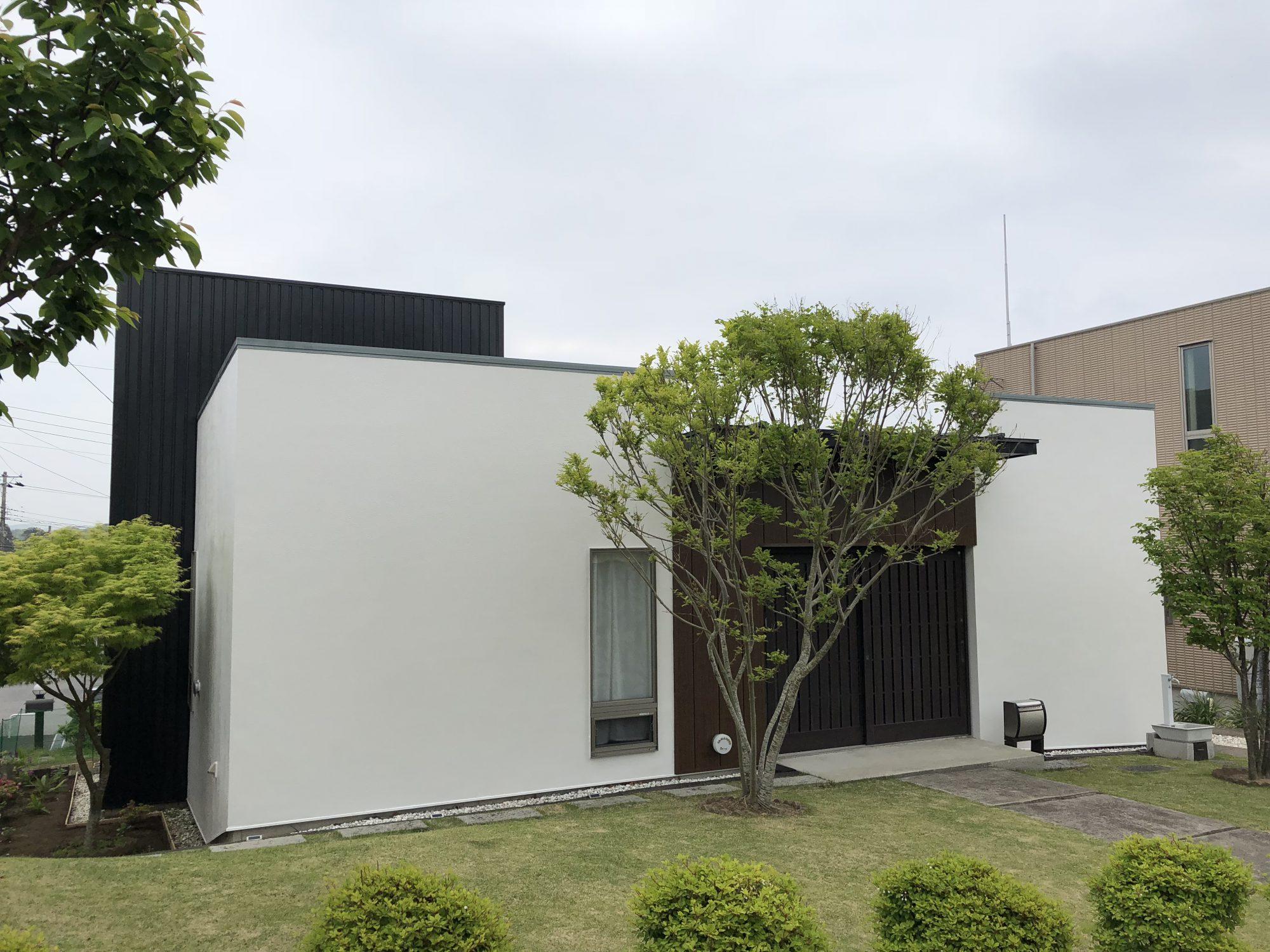 勝浦市Y様邸屋根外壁塗装工事 After