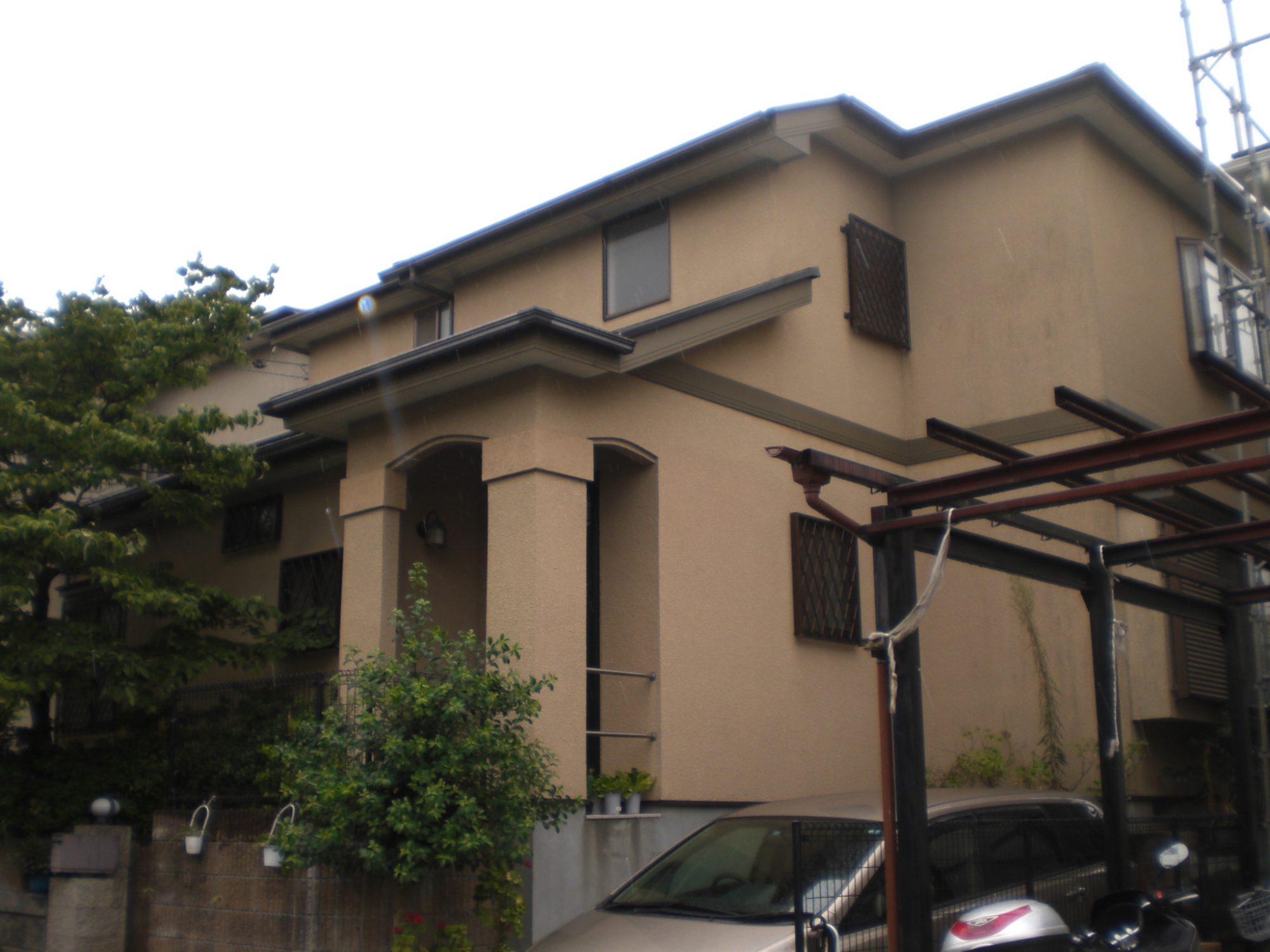 松戸市Y様邸 屋根・外壁塗装 Before