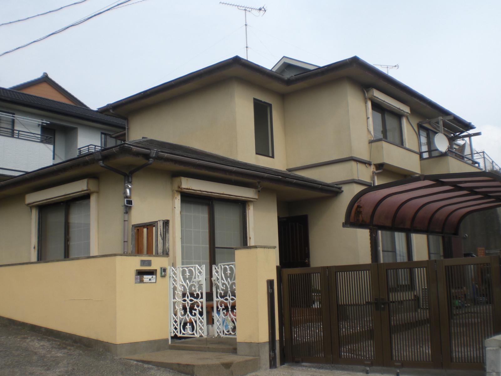 銚子市K様邸 屋根・外壁塗装 Before