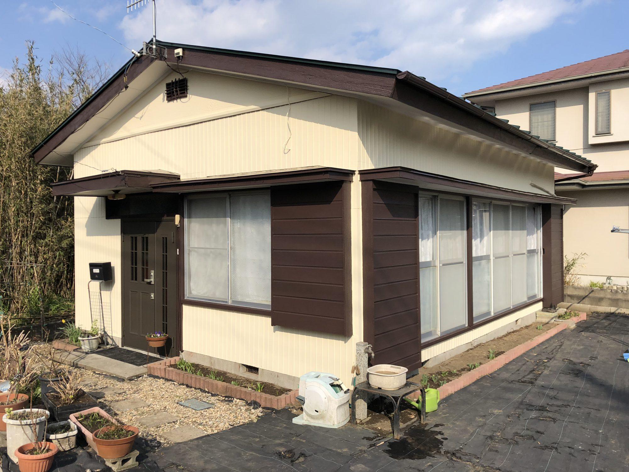 いすみ市S様邸外壁塗装・玄関ドア交換工事 After
