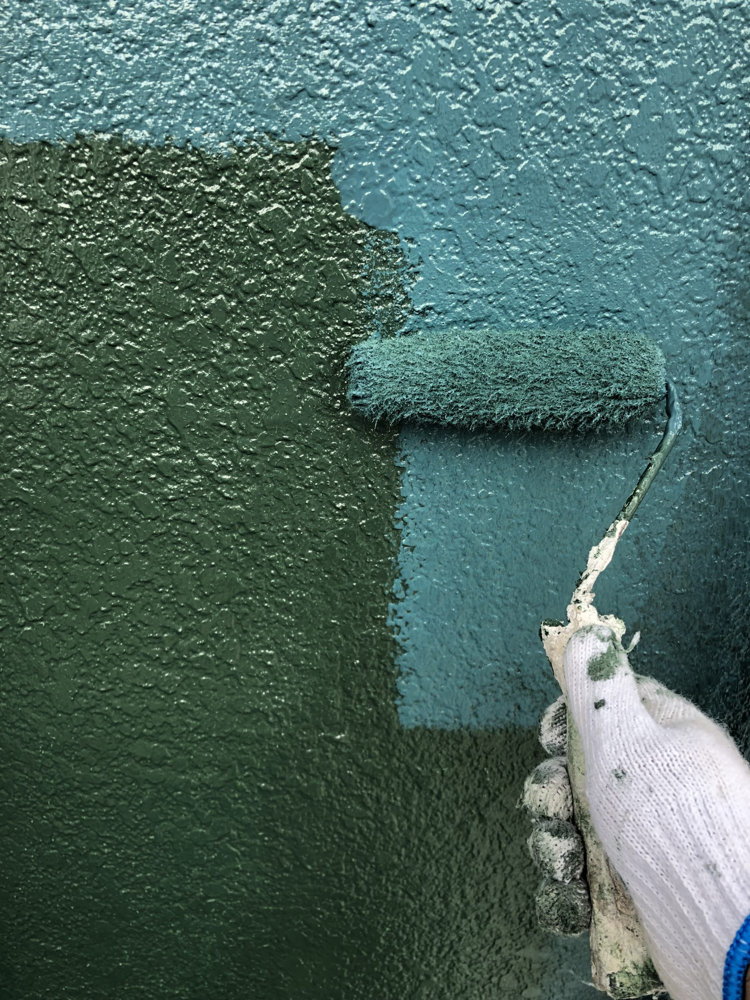 長生郡長生村D様邸外壁塗装工事