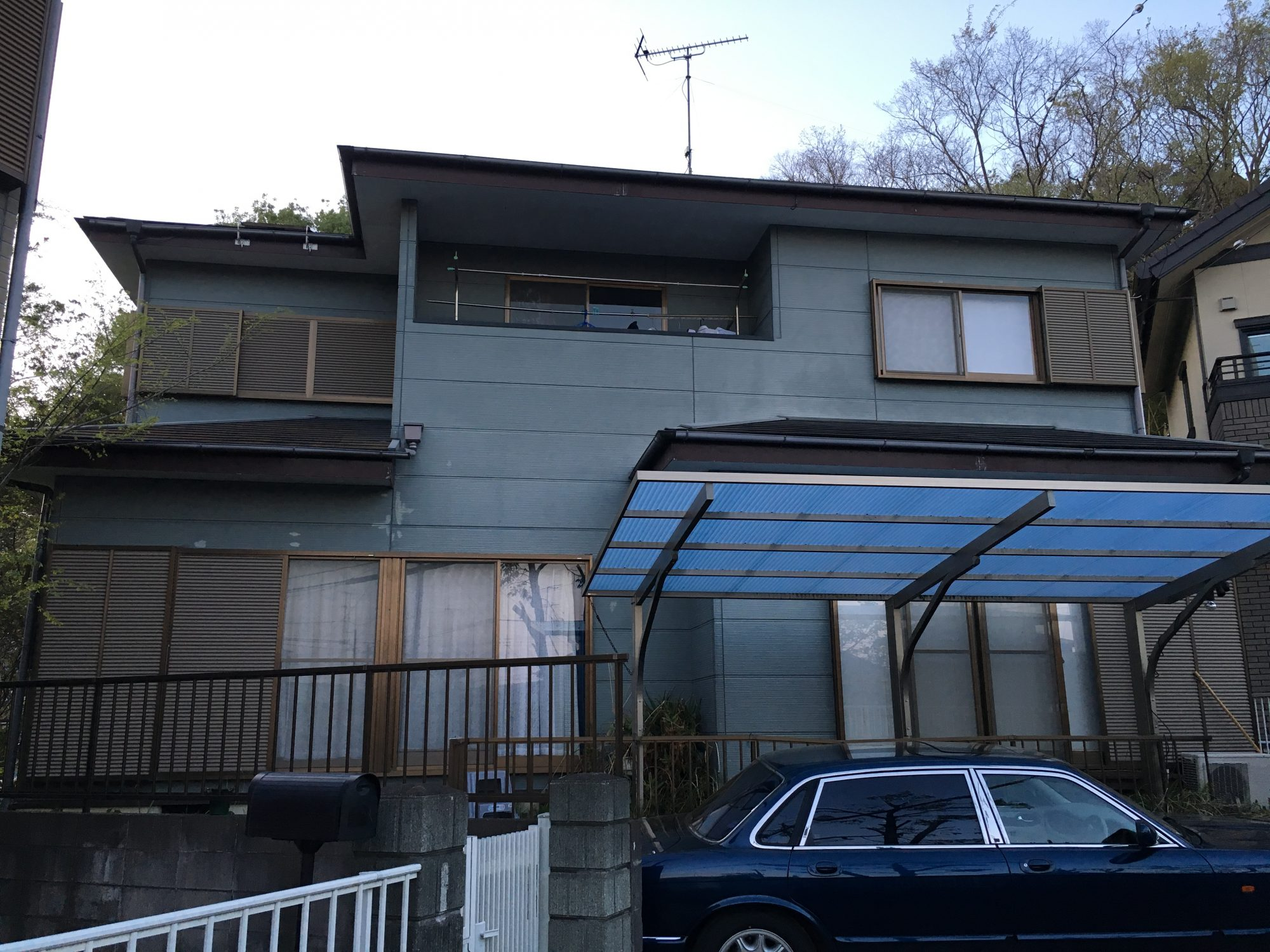 大網白里市駒込T様邸屋根•外壁塗装工事 Before