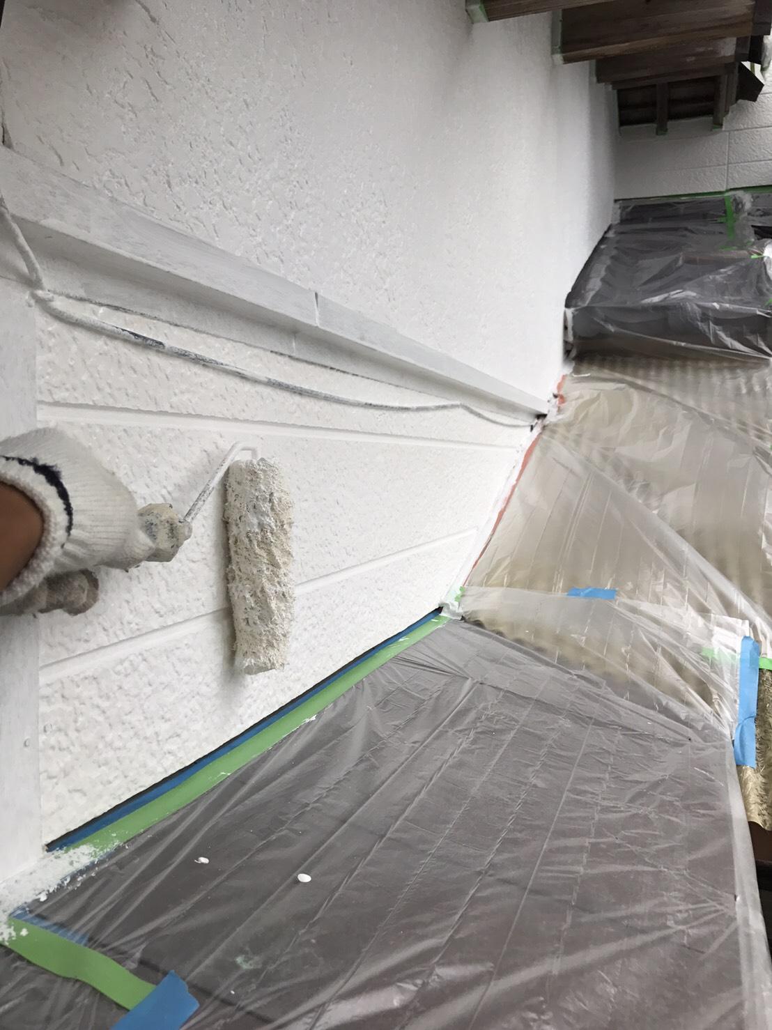 いすみ市岬町U様邸外壁塗装工事