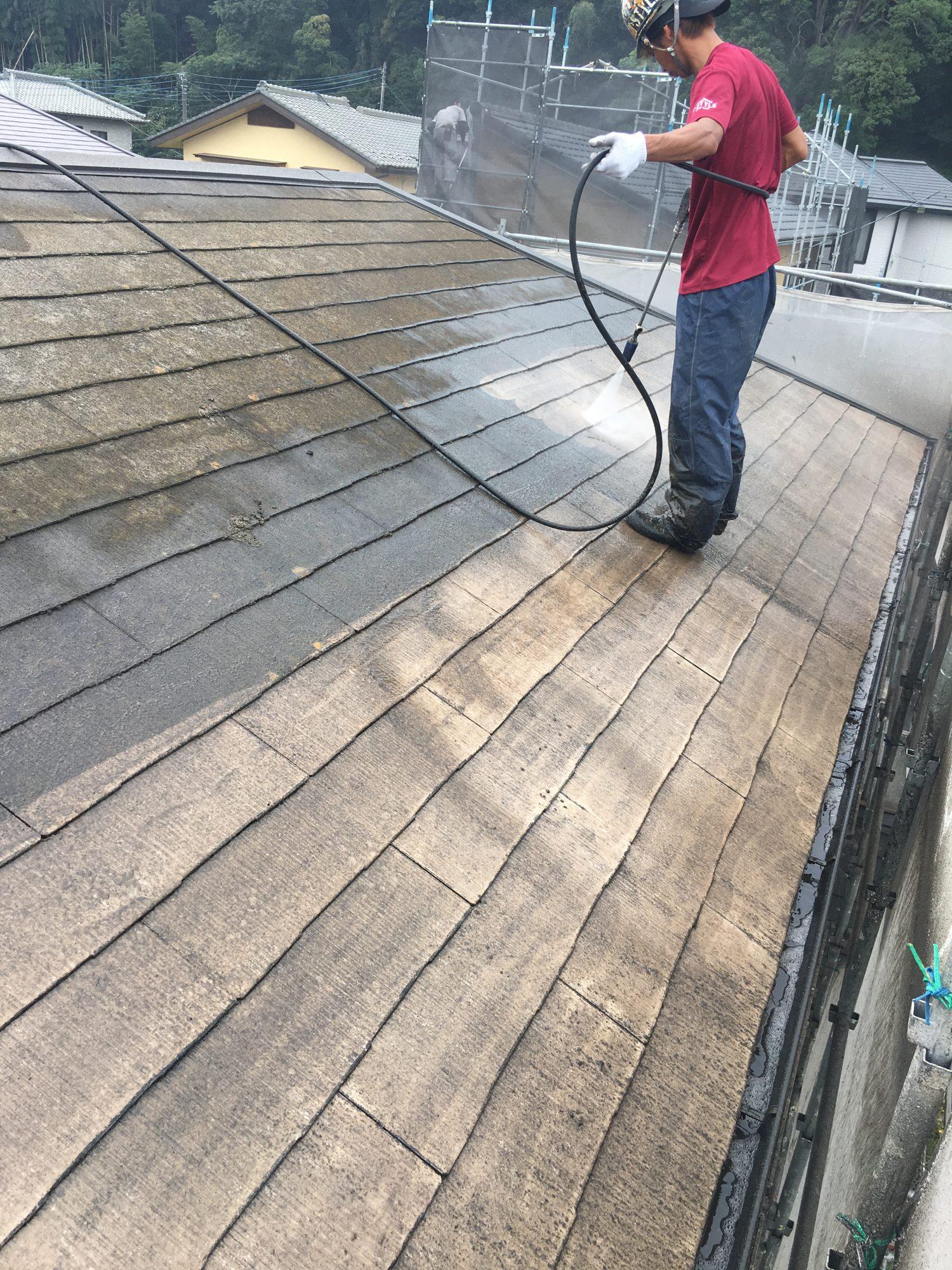 長生郡睦沢町N様邸屋根外壁塗装工事