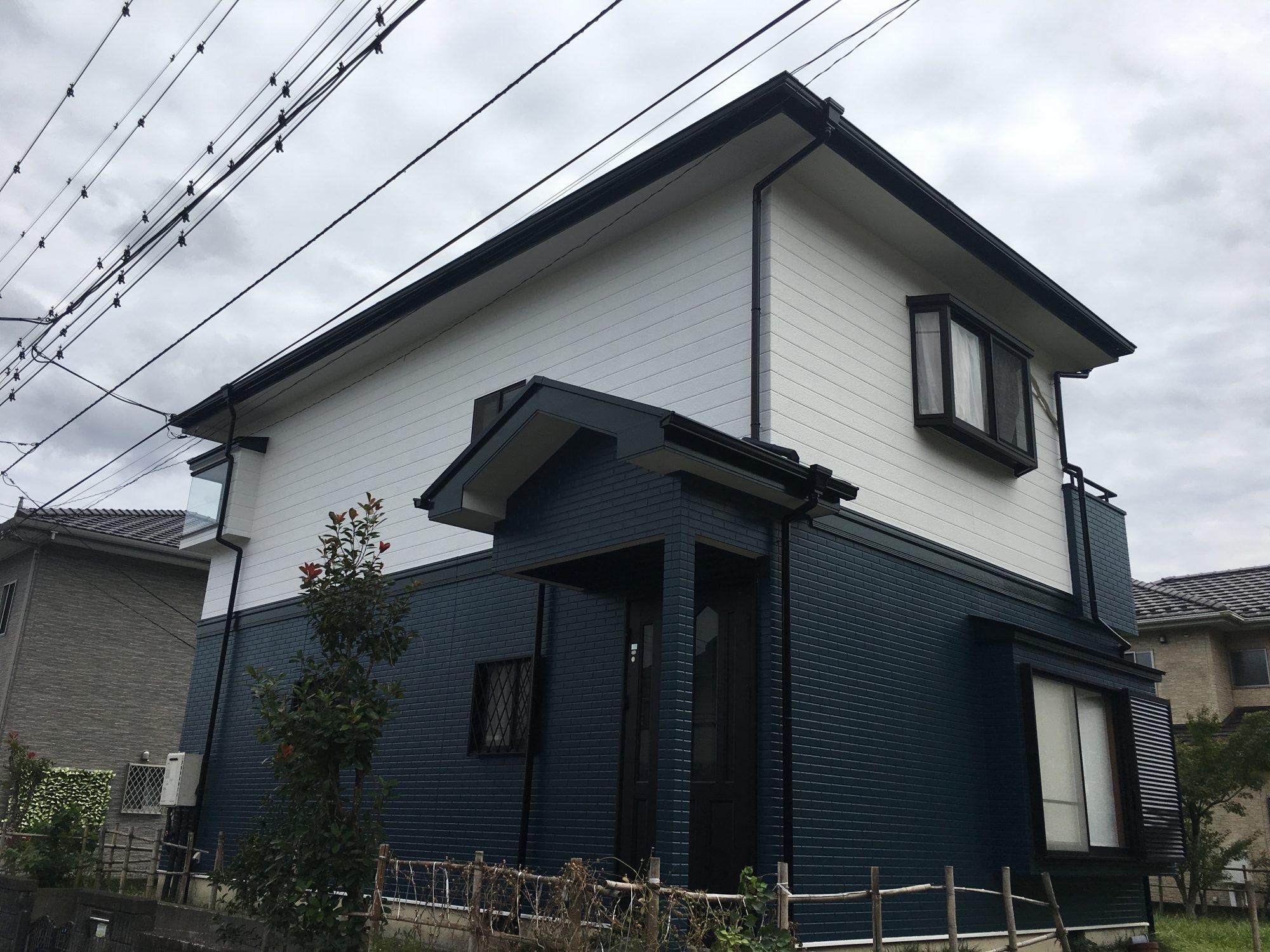 睦沢町N様邸屋根外壁塗装工事 After