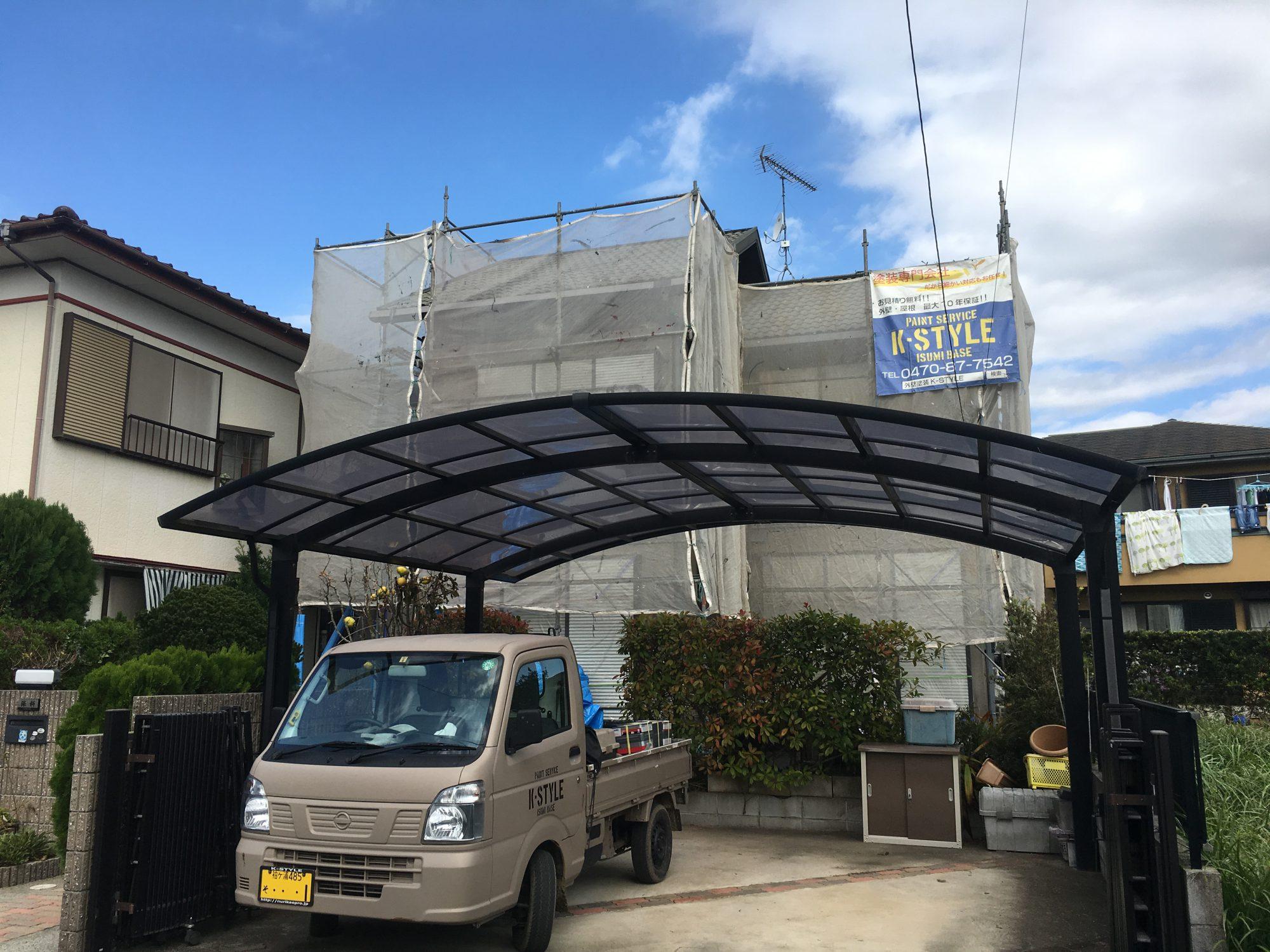 長生郡一宮町H様邸屋根外壁塗装工事