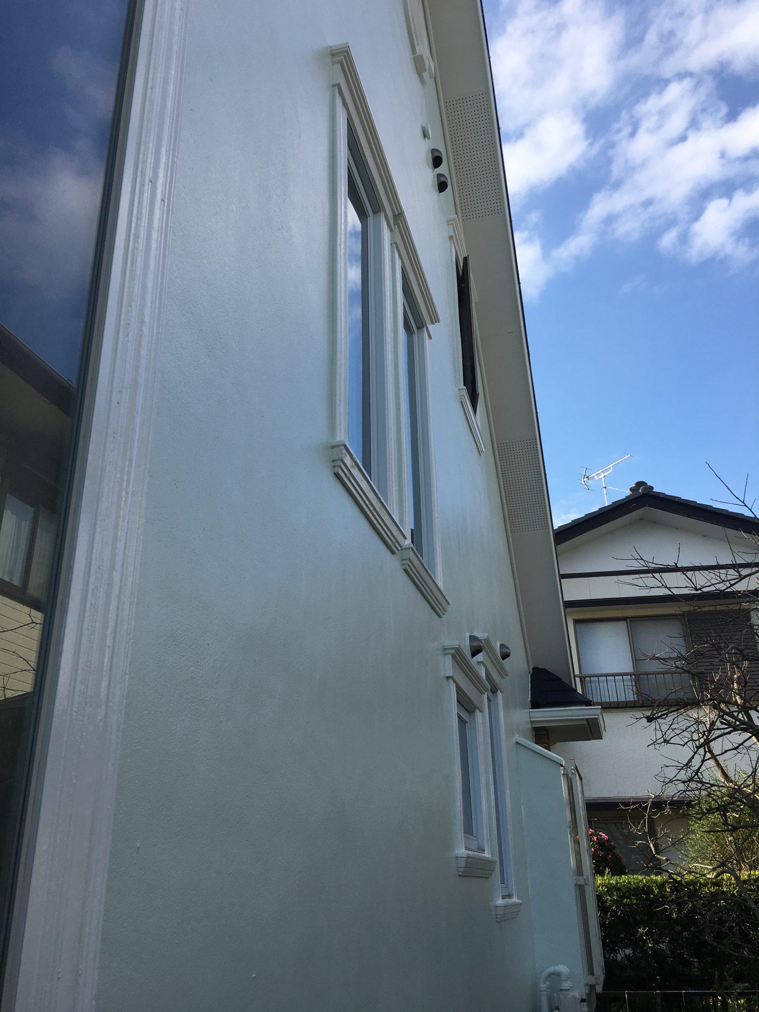 大網白里市大網K様邸屋根外壁塗装工事