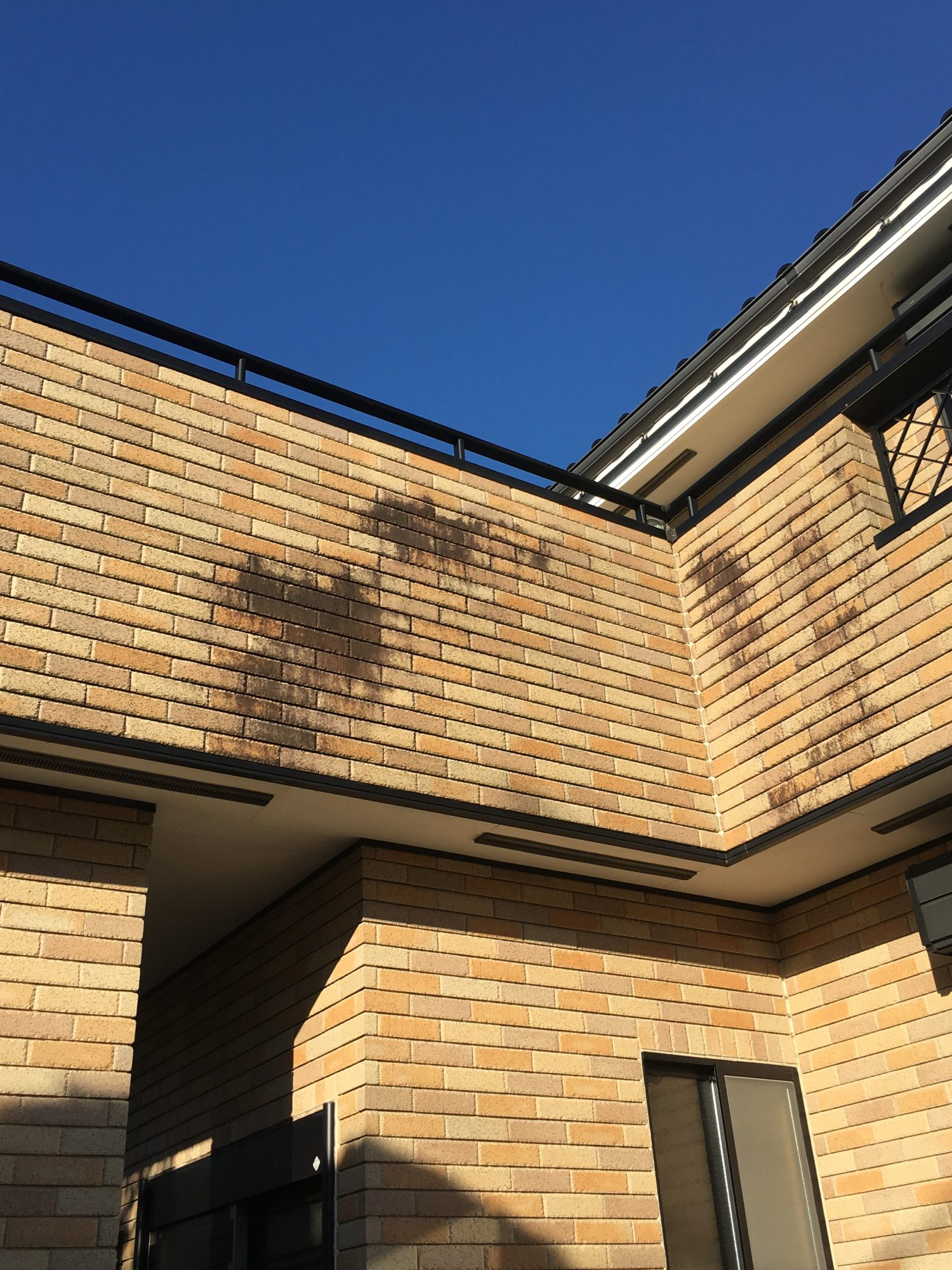 長生郡長生村S様邸外壁洗浄、塗装工事 Before