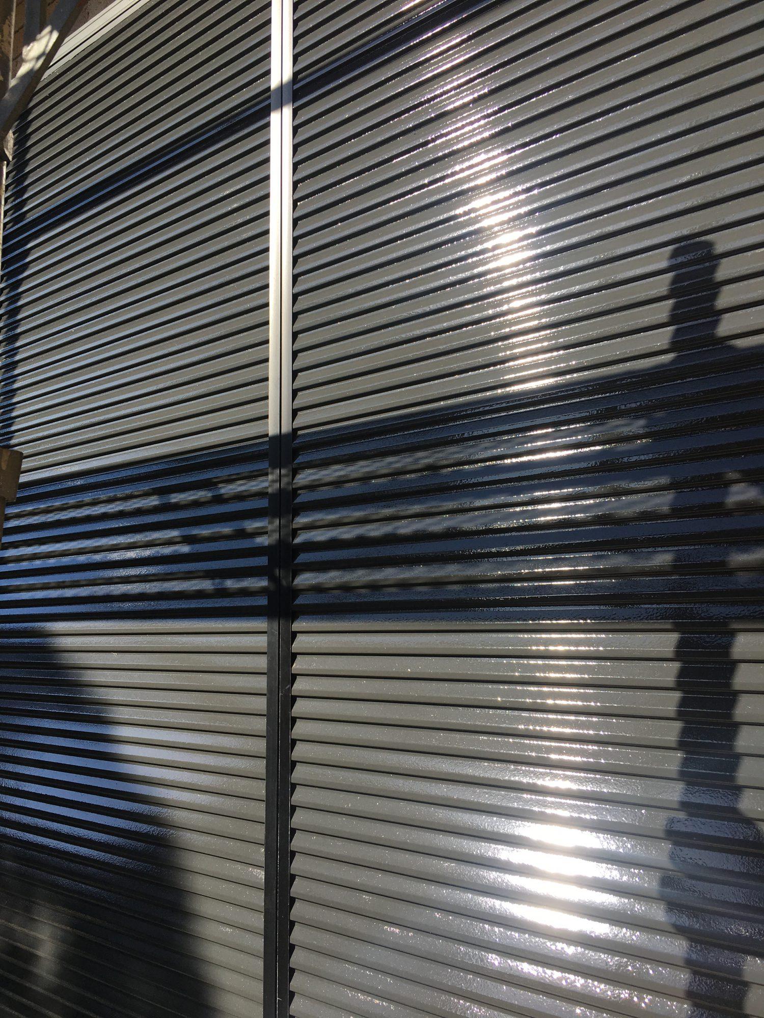 長生郡長生村S様邸外壁洗浄、塗装工事