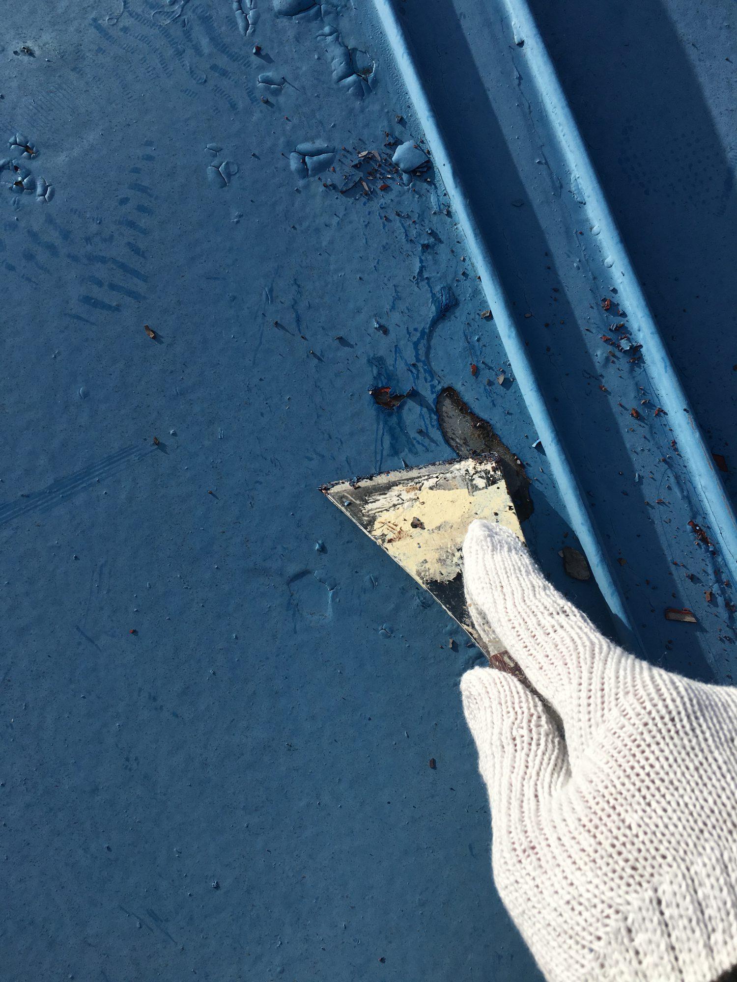 茂原市K様邸屋根塗装工事