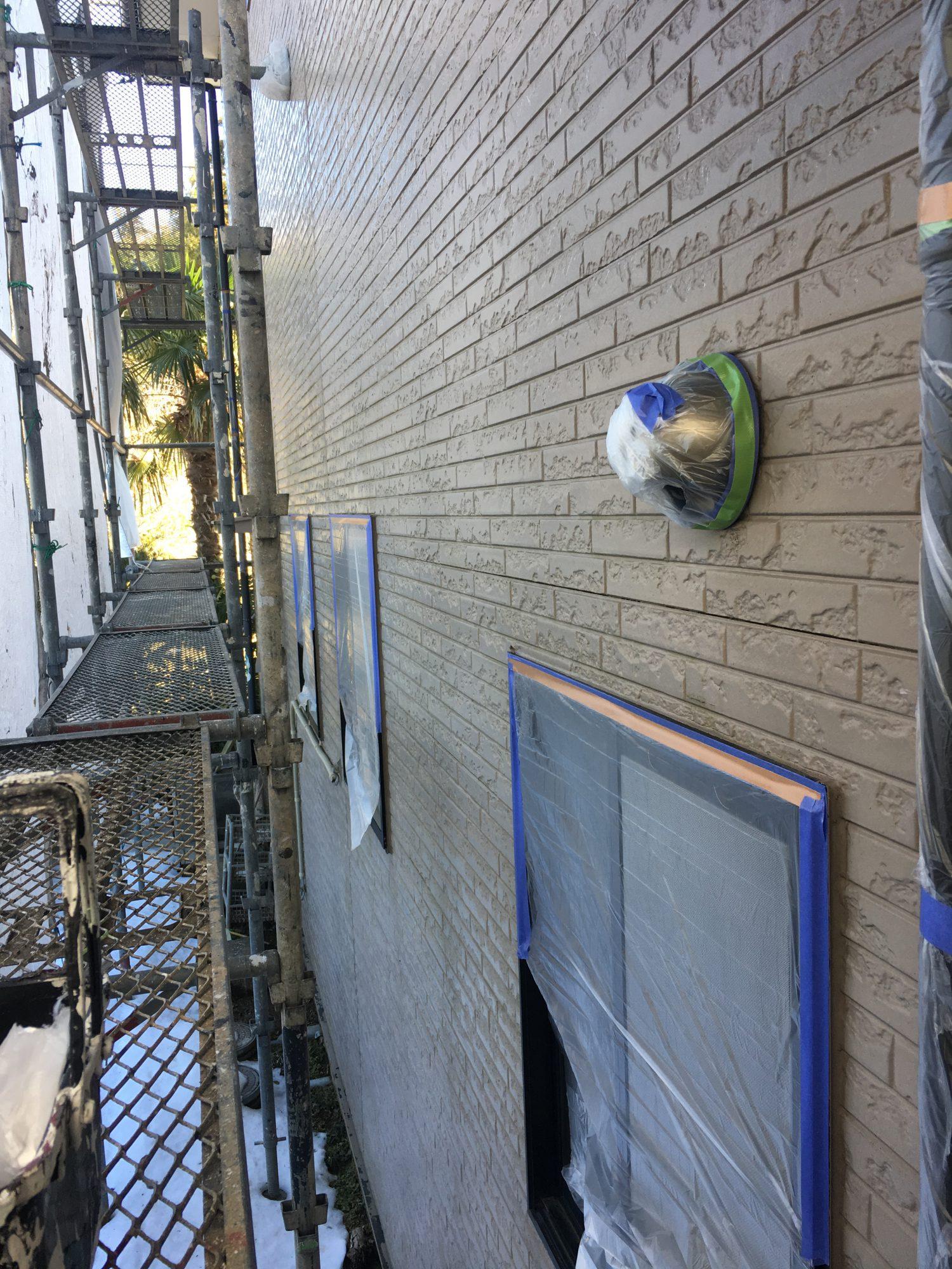勝浦市I様邸外壁塗装工事