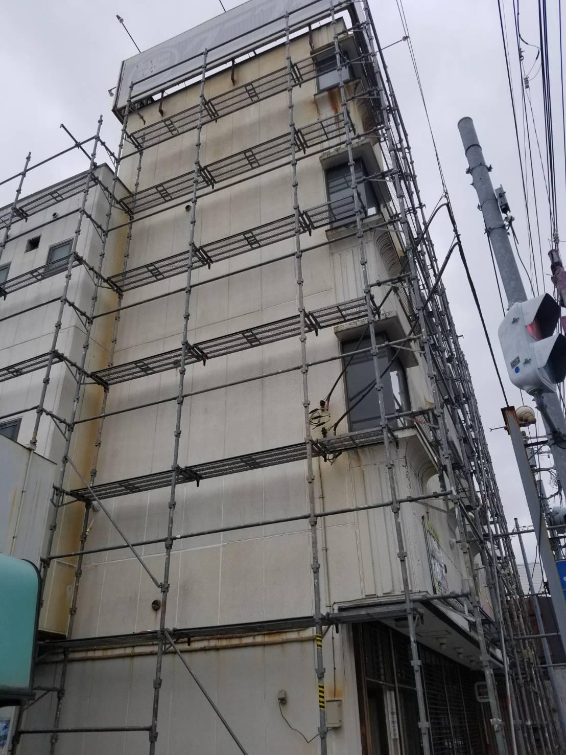茂原市茂原クニフヂビル外壁塗装工事