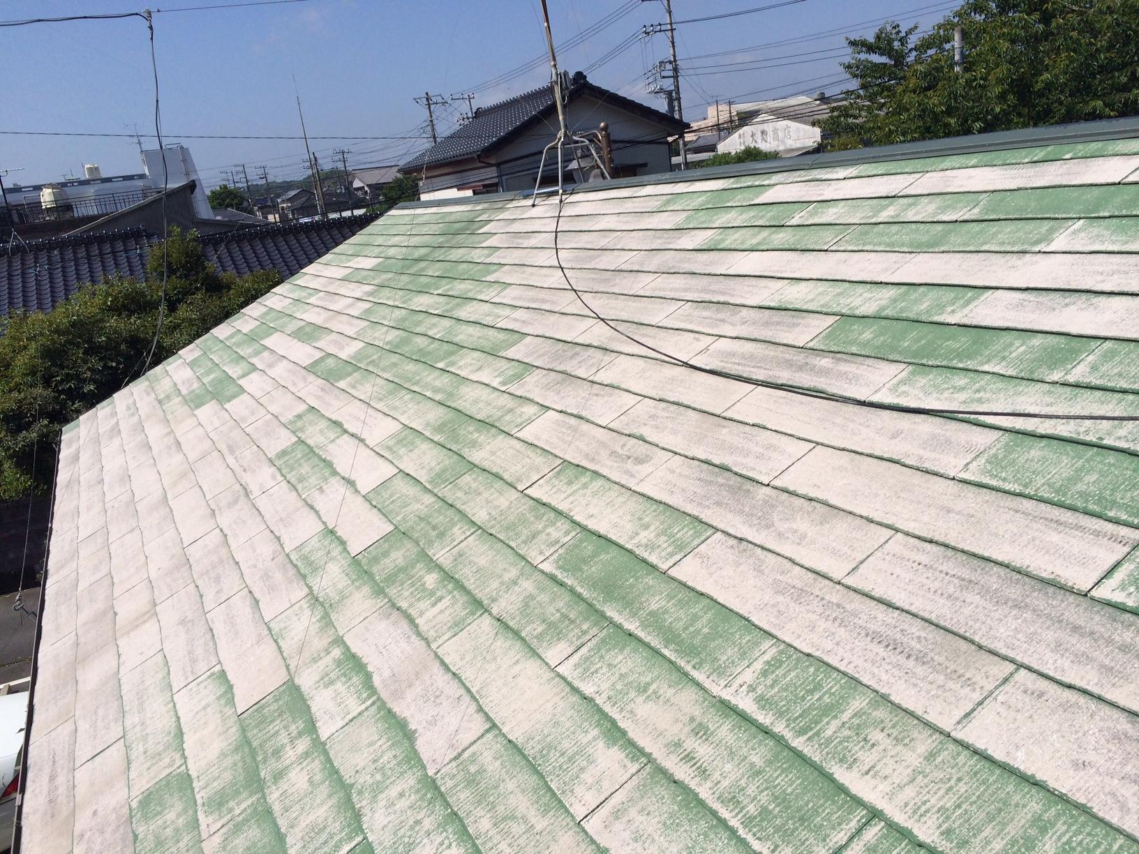 いすみ市I様 屋根塗装工事