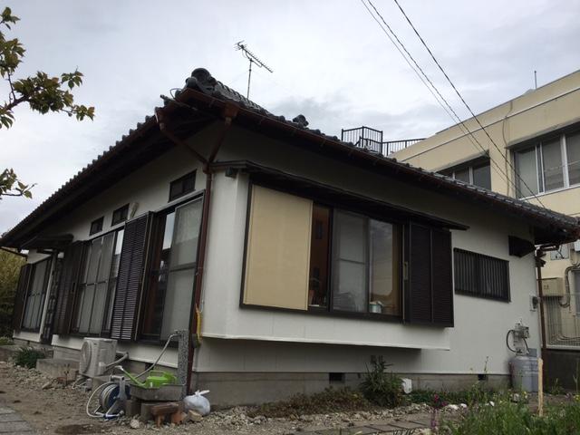 夷隅郡御宿町O様邸 外壁塗装工事 Before