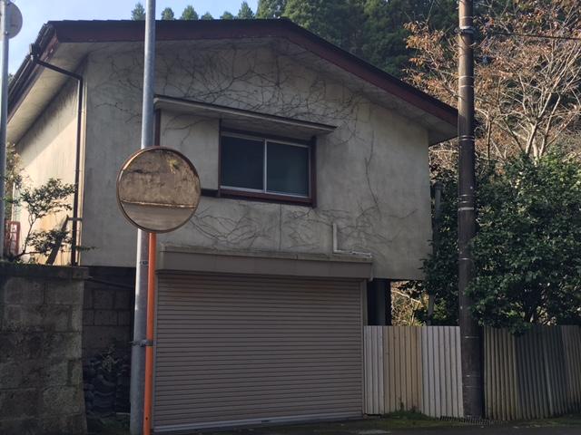 夷隅郡大多喜町板谷S様邸 外壁塗装工事 Before