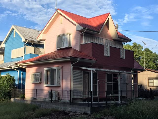 いすみ市岬町S様邸 屋根・外壁塗装工事 Before