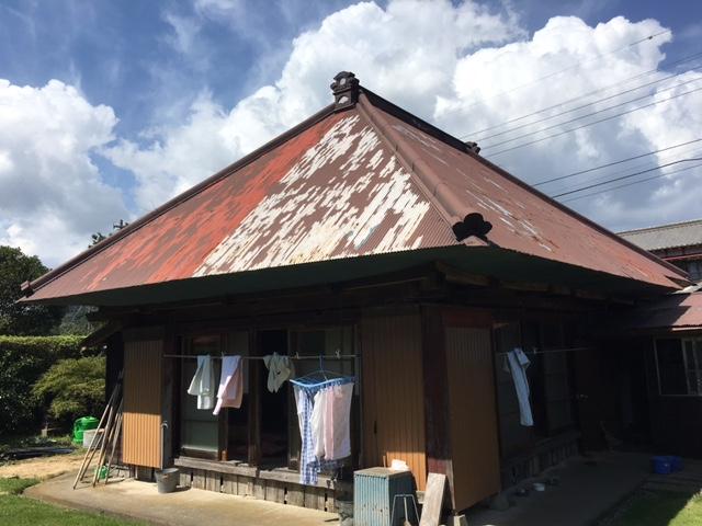 いすみ市下布施S様 屋根塗装工事 Before