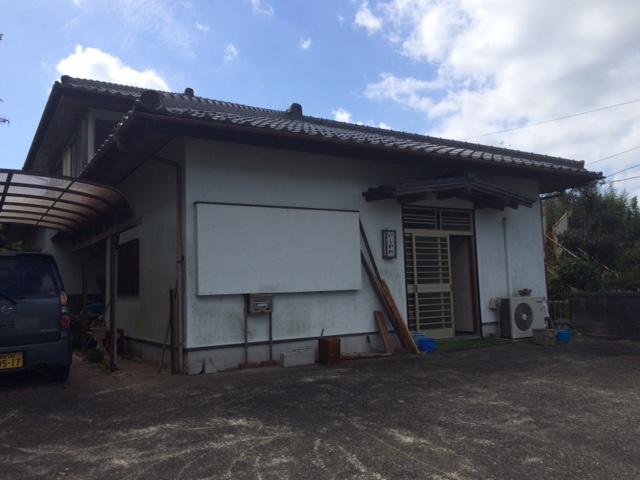 いすみ市I様邸 外壁塗装工事 Before