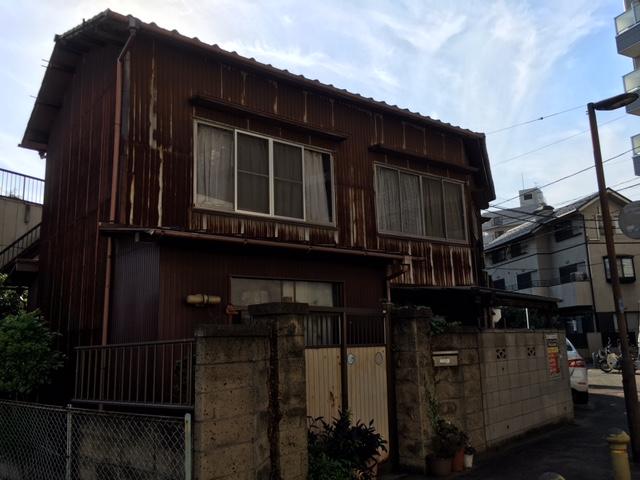 千葉市中央区K様邸 外壁塗装工事 Before
