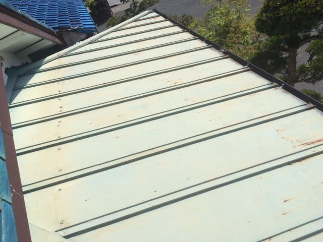 市原市 旅館喜代元様 屋根塗装工事 Before